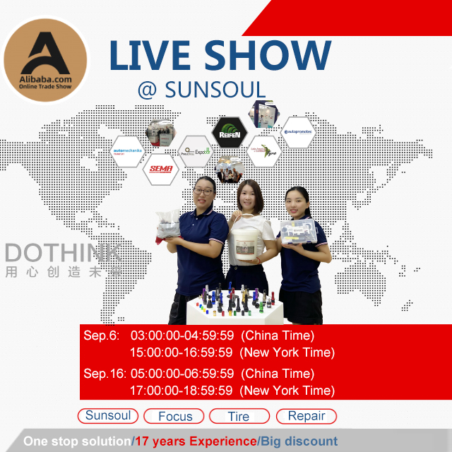 Welcome to SUNSOUL LIVE SHOW at Sep 16th
