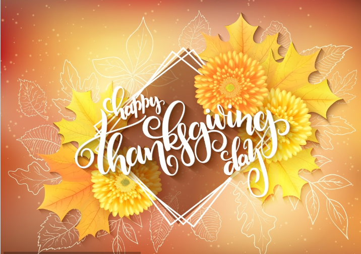 Thanksgiving fills the heart with thanks