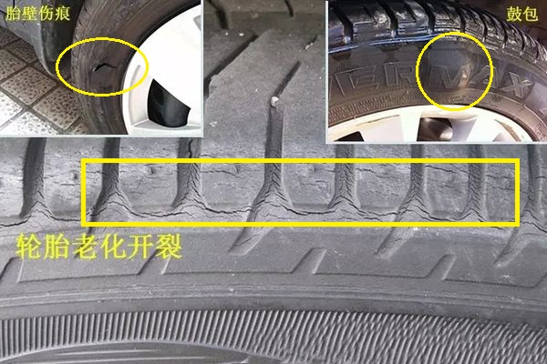 Do you have these 3 phenomena on your car tires